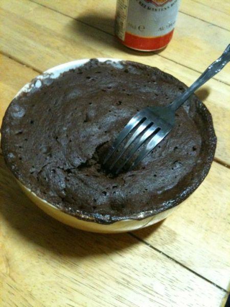 Cupcake chocolat banane en 5 min chrono dans Recettes fastoches cupcake