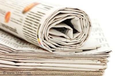 Le papier journal, votre atout éco-écolo !  dans Pour la maison ! newspaper